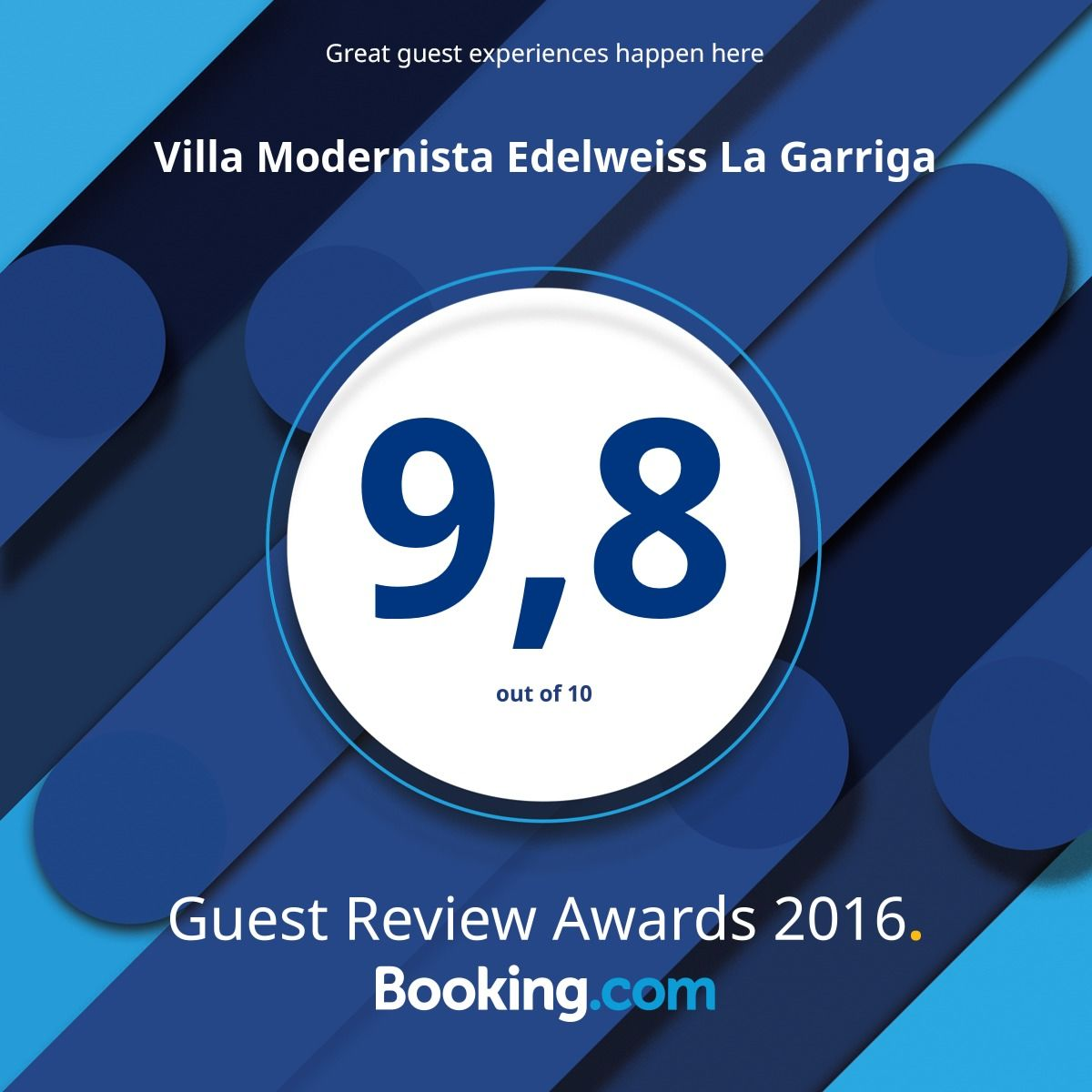 Booking Award
